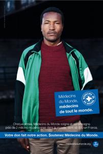 Campagne pour Médecins du monde