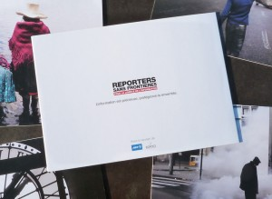 cartes de voeux pour Reporters sans frontières