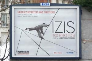 Affiche pour Reporters sans frontières