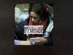 Plaquette pour Médecins du Monde